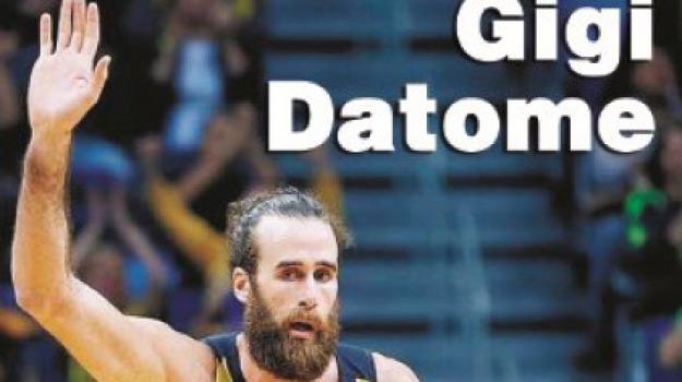 basket, gigi datome, intervista, Sicilia, Archivio, Sport