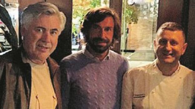 carlo ancelotti, cittadinanza onoraria, lago, Cosenza, Calabria, Sport