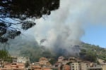 Messina, problemi idrici a causa degli incendi