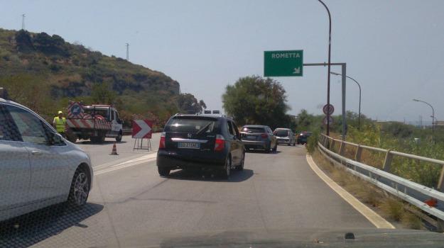 autostrada chiusa, Sicilia, Archivio