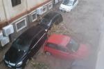 Scilla, le auto trascinate dalla pioggia FOTO