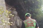 Scilla, controlli sul costone roccioso