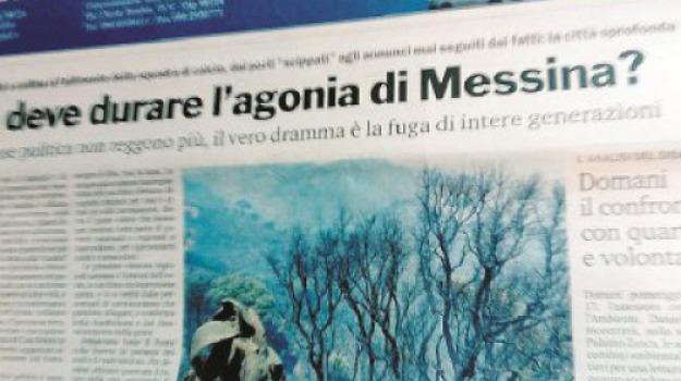 titolo giornale, Messina, Archivio