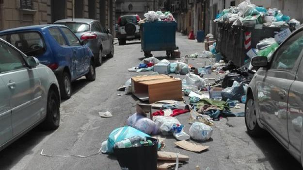 mancata raccolta, palermo, protesta, rifiuti, Sicilia, Archivio
