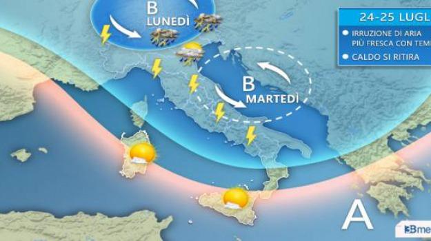 caldo, nord, previsioni meteo, sud, Sicilia, Calabria, Archivio
