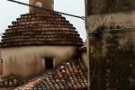 Fulmine danneggia chiesa a Caulonia