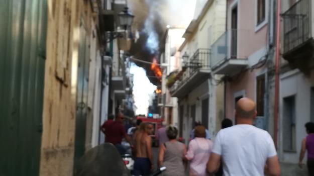 incendio, pizzo, Catanzaro, Calabria, Archivio