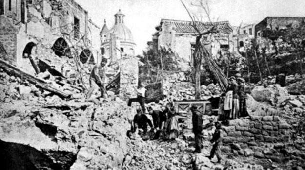 1883, Benedetto Croce, ischia, terremoto, Sicilia, Archivio, Cronaca