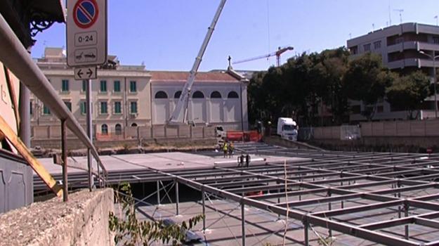 la farina, parcheggio, Messina, Archivio