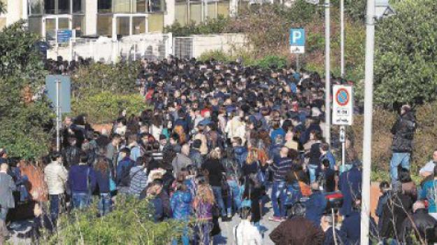 test universitari, Messina, Cronaca