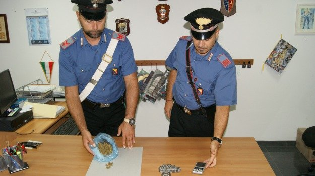 arrestato 19enne, scicli, spaccio droga, Sicilia, Archivio
