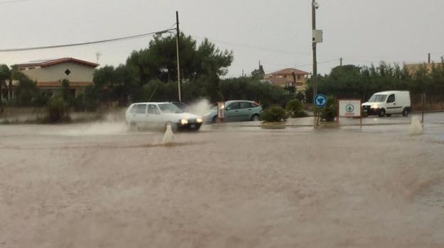 Emergenza pioggia, ragusa, Strade allagate, Sicilia, Archivio