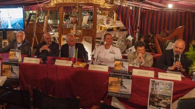 festa della marineria, messina, nave palinuro, Messina, Archivio