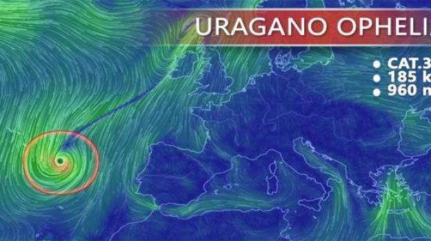 europa, irlanda, uragano ophelia, Sicilia, Archivio