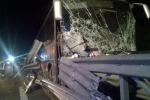Bus perde il controllo, due morti sull'A2 tra San Mango e Altilia