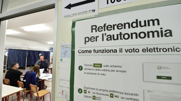 autonomia, lombardia, referendum, veneto, Sicilia, Archivio, Cronaca