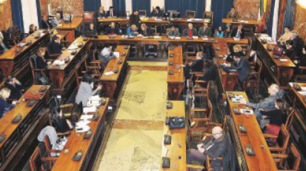 consiglio comunale, messina, piano triennale opere pubbliche, previsionale, Messina, Sicilia, Archivio
