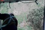 Migrante fugge dopo lo sbarco, arriva l'elicottero