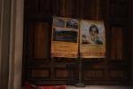 Manifesti contro Falcomatà a Palazzo San Giorgio