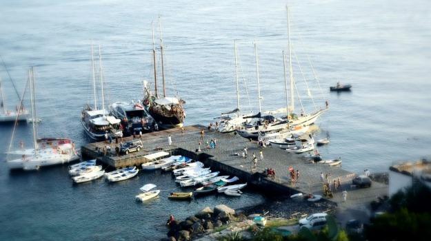 filicudi, lavori, porto, Messina, Archivio