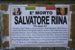 Morte Riina, manifesto funebre dà lieto annuncio