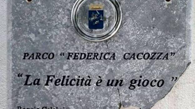 federica cacozza, parco, reggio calabria, Reggio, Archivio