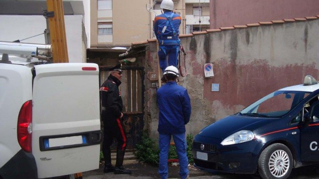 allaccio abusivo, hajjaji fouad, Messina, Archivio