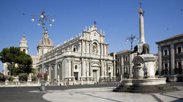 catania, cattedrale, duomo, Sicilia, Archivio