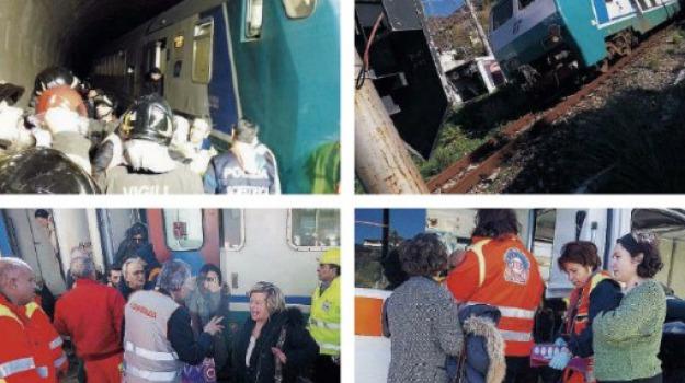cosenza, paola, scatola nera, treno deraglia, Cosenza, Calabria, Archivio