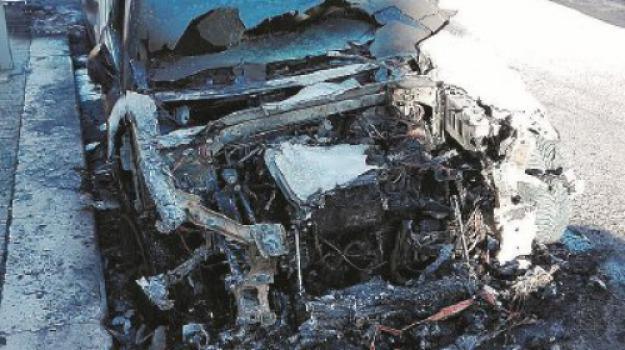 auto incendiate, reggio calabria, Reggio, Archivio