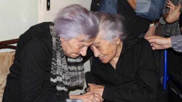 agrigento, centenarie, compleanno, Sicilia, Archivio