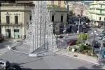 Messina vista dalla ruota panoramica / video