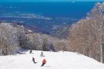Arriva la prima neve a Gambarie, le piste da sci non sono ancora pronte