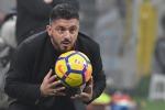 """Napoli-Barcellona, Gattuso deluso dal pareggio: """"Ci hanno castigato"""""""