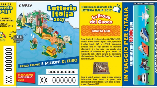 biglietti vincenti, calabria, lotteria italia, Sicilia, Archivio