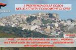 'Ndrangheta nel Crotonese: condanne per oltre 6 secoli. FOTO E PROVVEDIMENTI