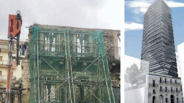messina, torre imperiale, Messina, Archivio
