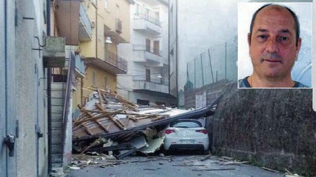 giuseppe tallarico, mesoraca, vittima maltempo, Catanzaro, Calabria, Archivio