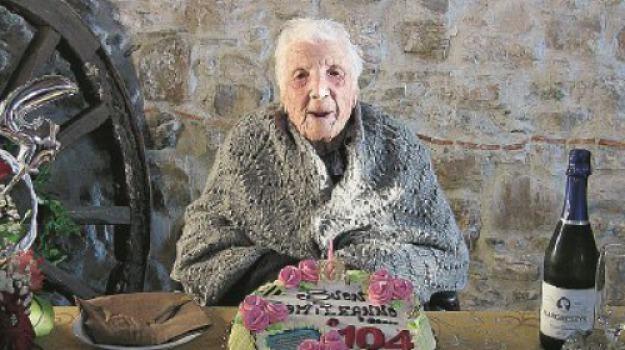 104 anni, bova marina, margherita marino, Reggio, Archivio