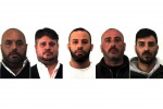 Mafia, le foto dei 5 fermati