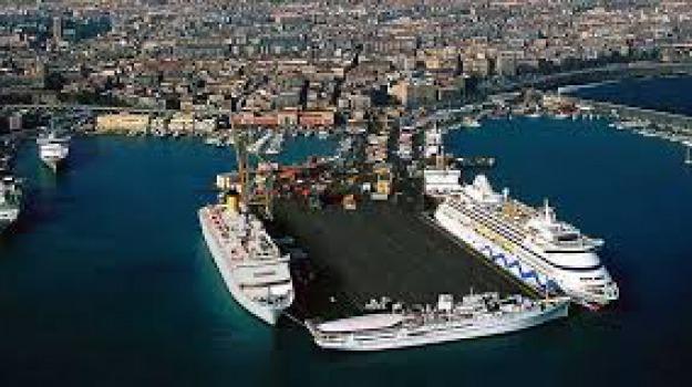 costa, crociere, passeggeri, porto catania, Sicilia, Archivio