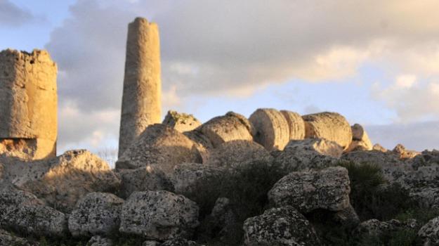 età preistorica, selinunte, tempio R, Sicilia, Archivio