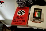 """Mein Kampf"" e riviste fasciste a casa di Traini"