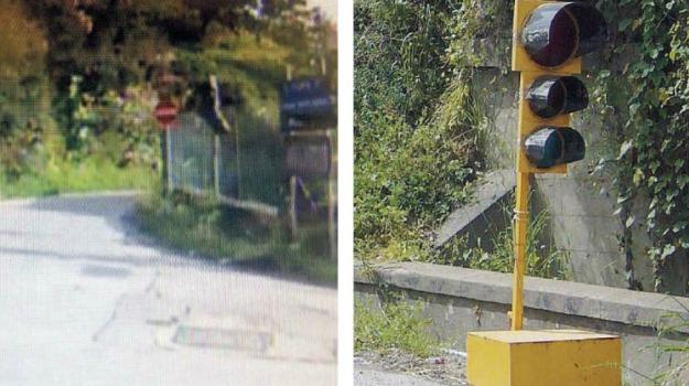 messina, semafori, vandali, Messina, Archivio