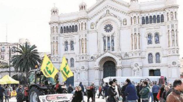 arcivescovo Giuseppe Fiorini Morosini, coldiretti, reggio calabria, Reggio, Archivio