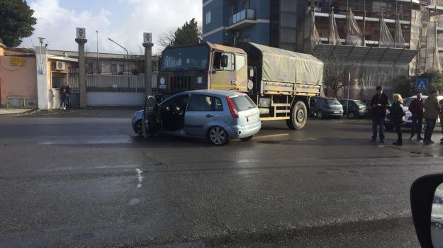 incidenti stradali, viale europa, Messina, Archivio