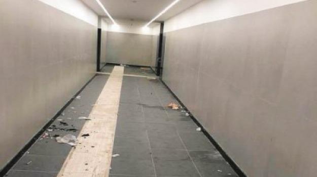 atti vandalici, corigliano, stazione, Cosenza, Calabria, Archivio