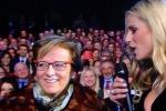 """Sanremo, una milazzese intervistata da Michelle diventa """"star"""" dei social"""