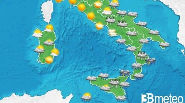 previsioni meteo, Catanzaro, Reggio, Cosenza, Messina, Archivio