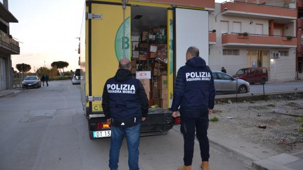 Arrestato 33enne, Furto su un camion, vittoria, Sicilia, Archivio